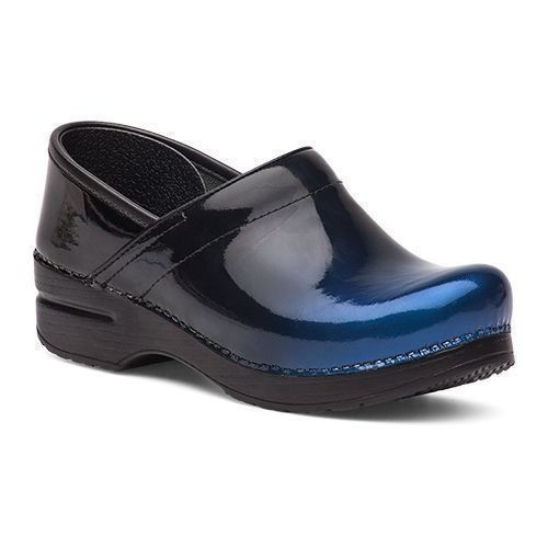 Professional Blue Ombre Patent Leather Clog Thumbnail