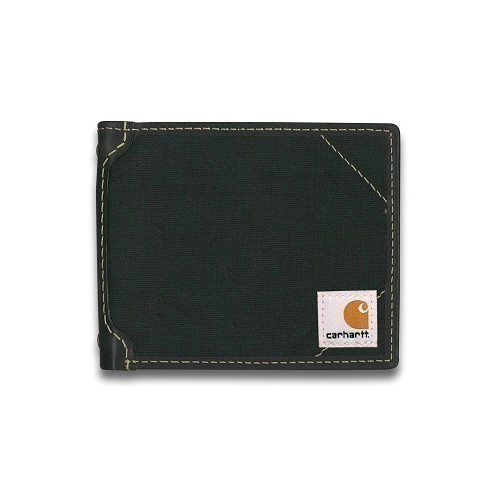 Canvas Passcase Wallet-Black Thumbnail