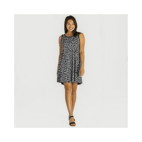 Women's Ditsy Floral Trapeze Pocket Dress Thumbnail