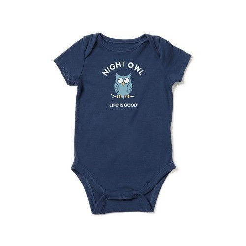 Baby Night Owl Crush Bodysuit Thumbnail