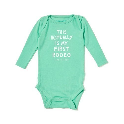 Baby Long-Sleeve Bodysuit - 1st Rodeo Thumbnail