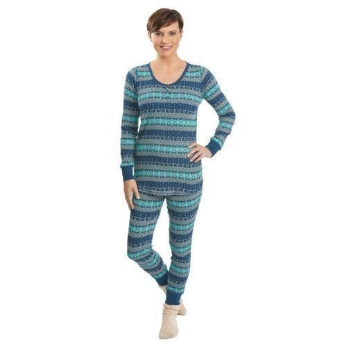 Women's Huckleberry Thermal Pajama Set Thumbnail