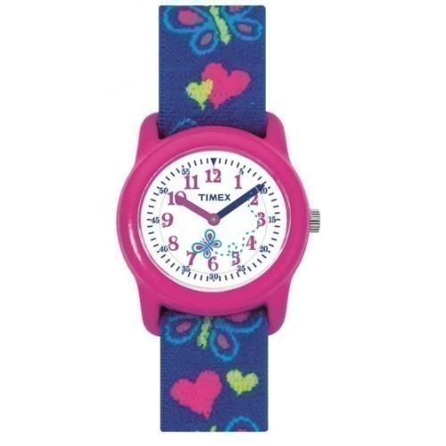 Kid's Analog Butterflies & Hearts Watch Thumbnail