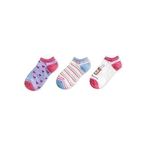 3-pk Girls PB&J Heart Low Sock Thumbnail