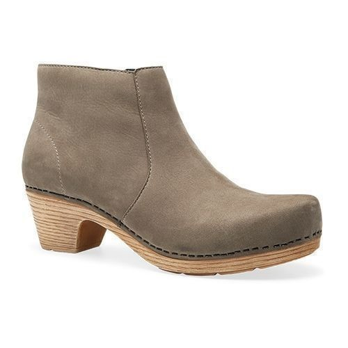 Maria Heeled Bootie Taupe Thumbnail