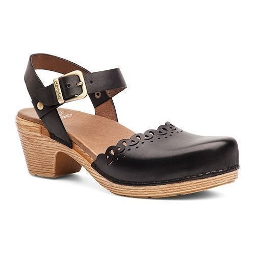Marta Open Mary Jane Black Full Grain Shoe Thumbnail