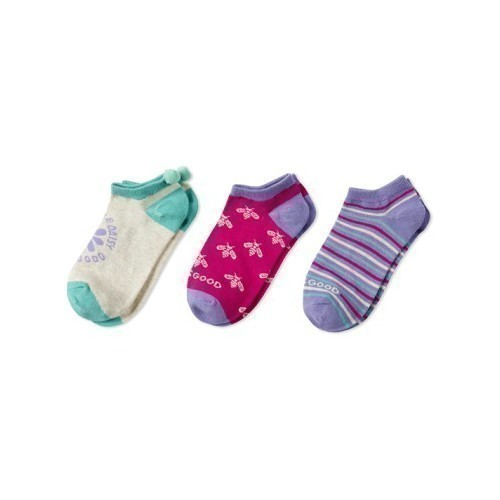 3-PK Girls Daisy Bee Socks Thumbnail