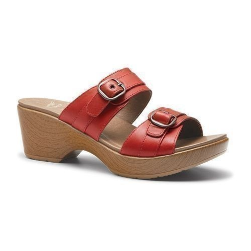 Jessie Sandal Red Full Grain Thumbnail