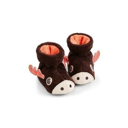 Baby Easy Critter Bootie Moose Thumbnail