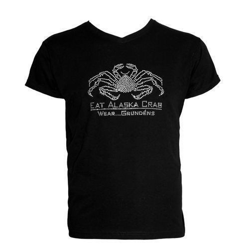 Women's Bling Eat AK Crab Tee Thumbnail