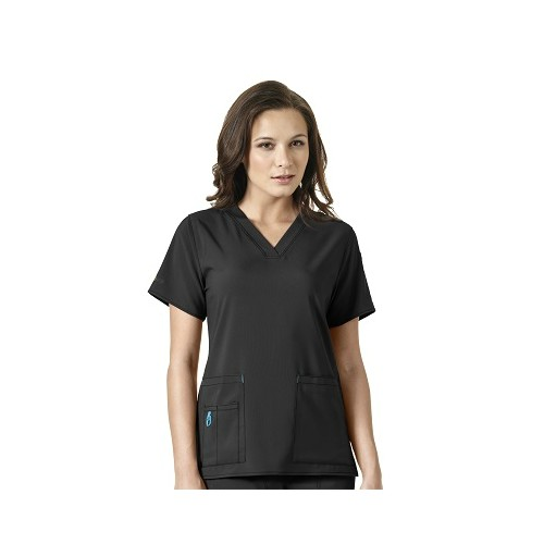 Women's 2-3X V-Neck Cross Flex Scrub Top Thumbnail