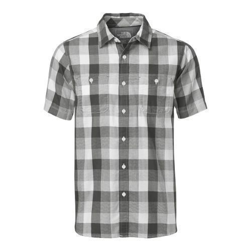 Short-Sleeve Shadow Gingham Shirt Thumbnail