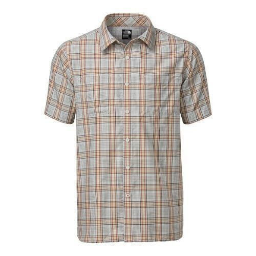 Short-Sleeve Off the Grid Plaid Shirt Thumbnail
