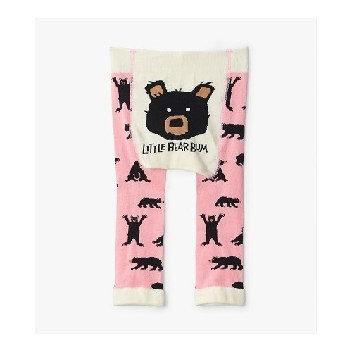 Baby Tights - Pink Bears Thumbnail