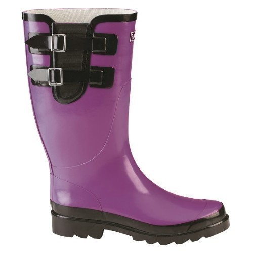 Puddletons Double Strap Mid Purple Thumbnail