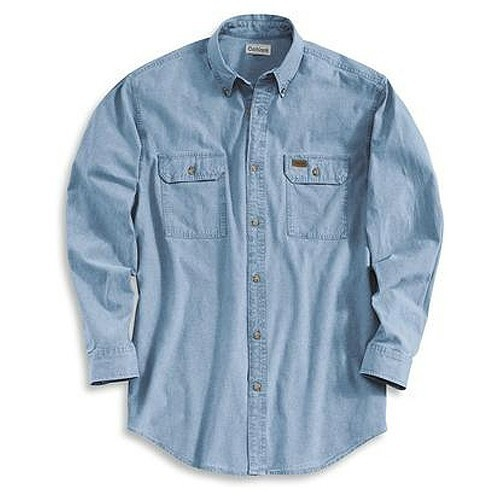 3X-4X LS Chambray Shirt Thumbnail