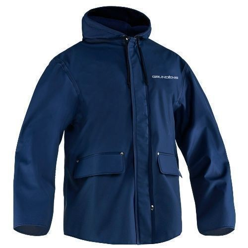 Grundens Hooded PVC / Fleece-Lined Jacket Thumbnail
