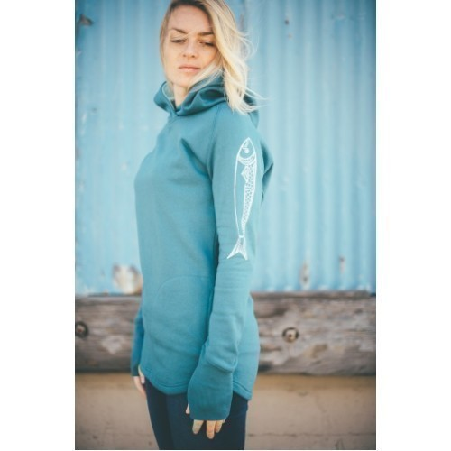 Women's Iconic Salmon Pullover Hoodie Thumbnail
