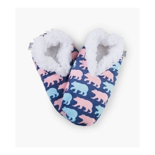 Women's Slippers Cottage Bears Thumbnail