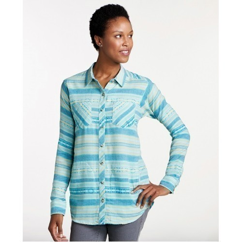 Women's Cairn Long-Sleeve Button Up Shirt Thumbnail