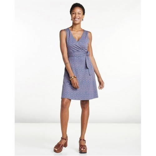 Women's Cue Wrap Sleeveless Dress  Thumbnail