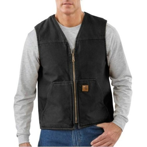 Sandstone Rugged Vest/Sherpa Lined Thumbnail