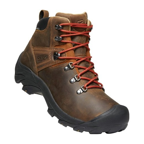 Pyrenees All Leather Mid Waterproof Hiker  Thumbnail