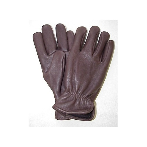 Brown Nordic Fleece Lined Deerskin Glove Thumbnail