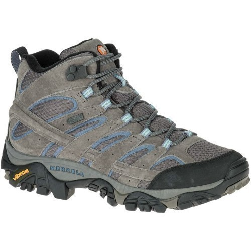 Wide Wmns Moab 2 Mid Waterproof Hiker Thumbnail