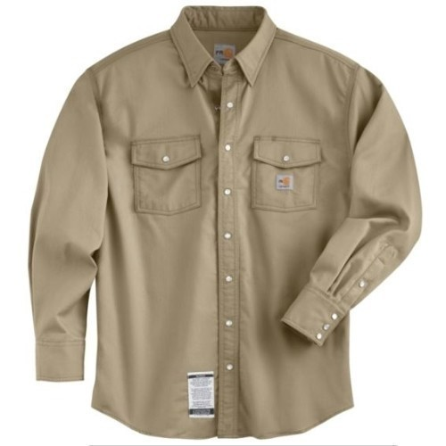 Flame Resistant Snap Front Twill Shirt Thumbnail