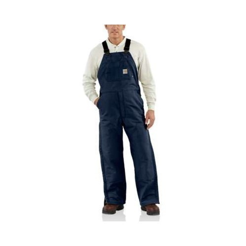 Flame Resistant Lined Duck Bib Overall Thumbnail