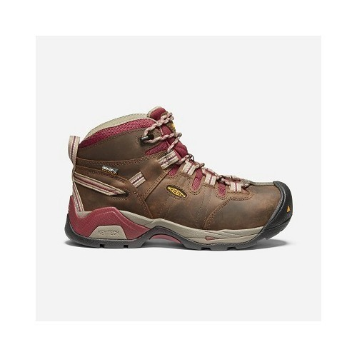 Women's Detroit Steel-Toe Waterproof Boot Thumbnail