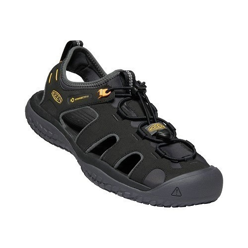 Solr Closed Toe Sandal - Black Thumbnail