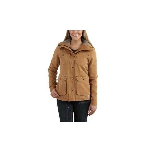 Women's Weathered Duck Wesley Coat Thumbnail