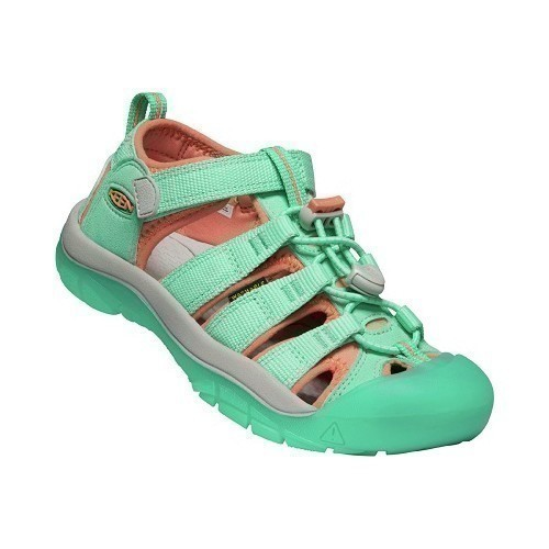 Youth Girls Newport Sandal - Green Thumbnail