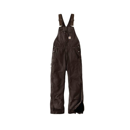 Washed Duck Insulated Bib Overall Thumbnail