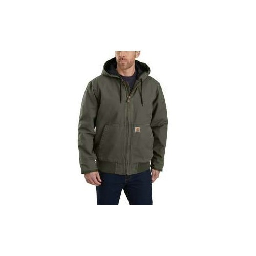 3X-5X  Washed Duck Insulated Active Jacket Thumbnail