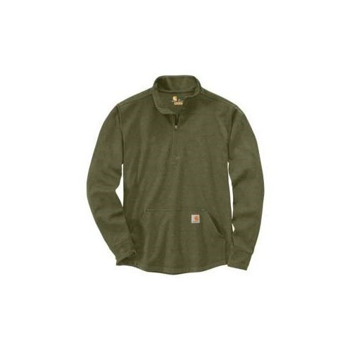 Heavyweight Long-Sleeve 1/2 Zip Thermal Shirt Thumbnail