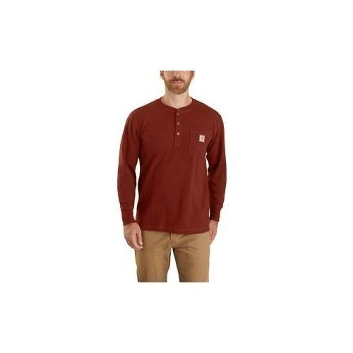 Heavyweight Long-Sleeve Thermal Henley Thumbnail
