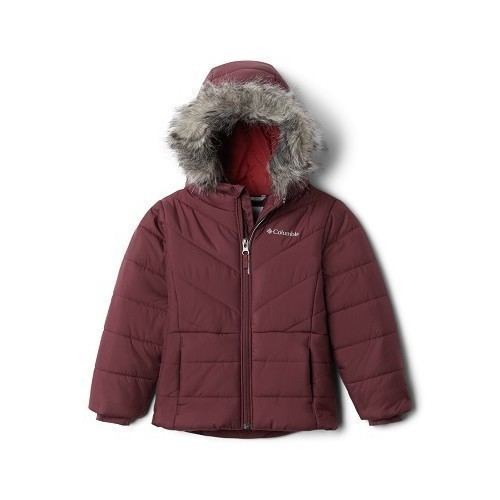 Girl's Katelyn Crest Jacket- Adjustable Hood Thumbnail