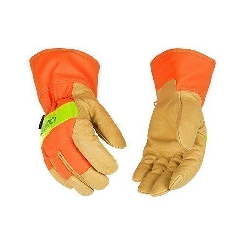 Hi-Vis Lined Grain Pigskin Leather Palm Glove Thumbnail
