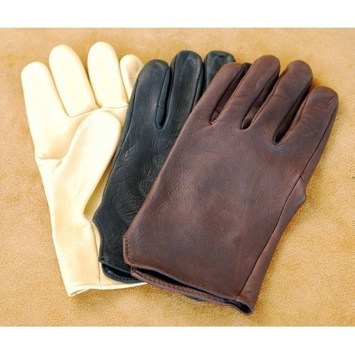Black Unlined Deerskin Glove Thumbnail