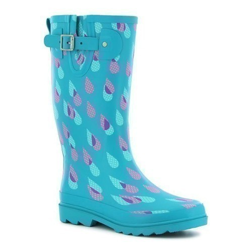 Women's Dotty Downpour Puddle Boot Thumbnail