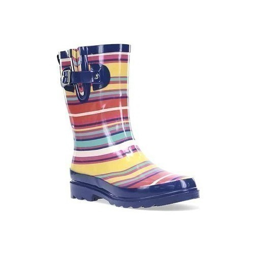 Women's Solstice Stripe Mid Rubber Boot Thumbnail
