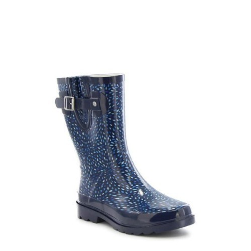 Women's Raindrop Burst Mid Puddle Boots Thumbnail