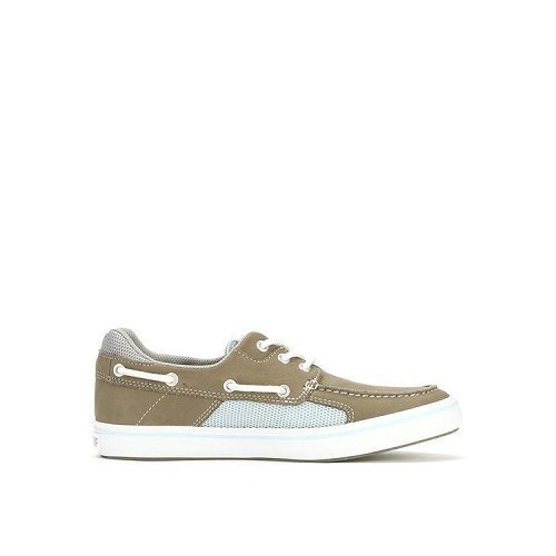 Women's Finatic II Boat Shoe-Grey Thumbnail