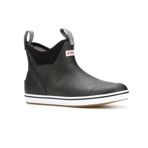 Xtratuf Ankle Deck Boot Black  Thumbnail