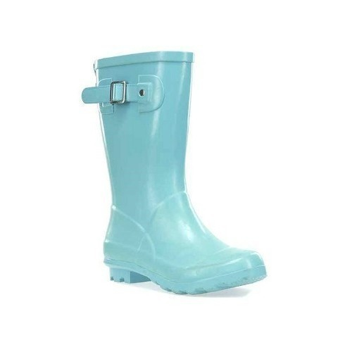 Youth Classic Tall Aqua Rubber Boots Thumbnail