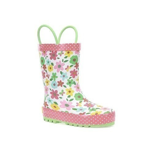 Youth Charming Garden Rain Boot - Ivory Thumbnail