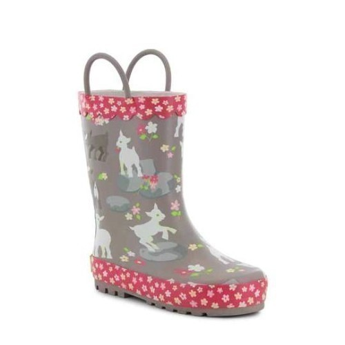Jr Girls Kidding Around Puddle Rubber Boot Thumbnail
